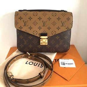 Authentic Louis Vuitton Reverse  Pochette Métis